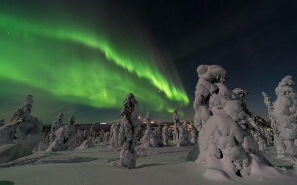 Фінляндія Північне сяйво