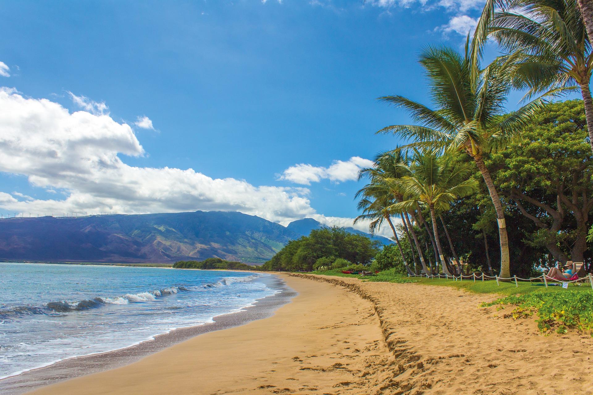 США Гаваї пляж