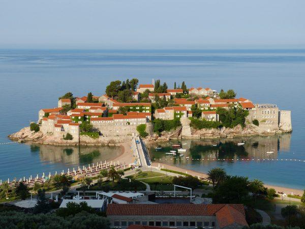 Чорногорія Будва фортеця