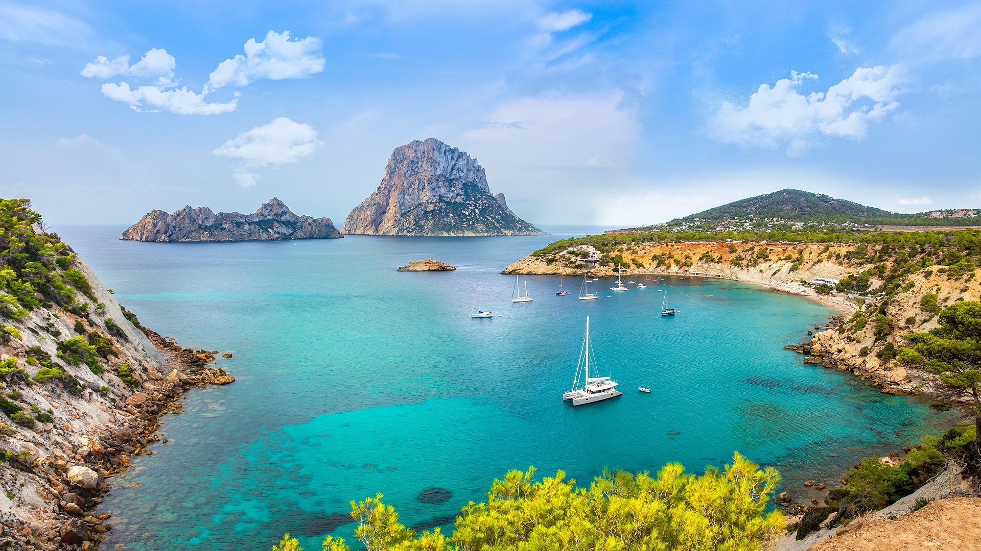 Іспанія Ібіца бухта