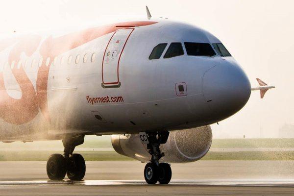 літак авіакомпанії Ернест