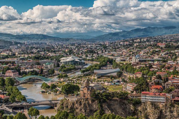 тбілісі панорама міста