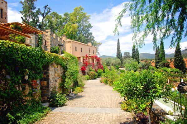 греція будинок сад