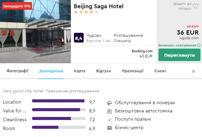 Beijing Saga Hotel