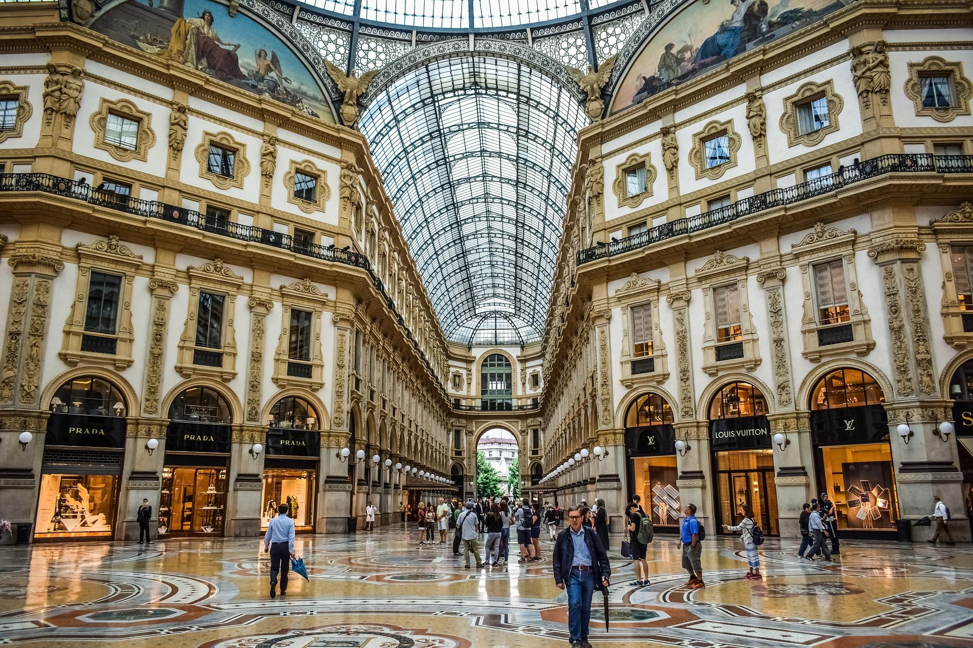 мілан торговий центр