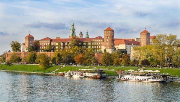 Польща Краків замок Вавеля
