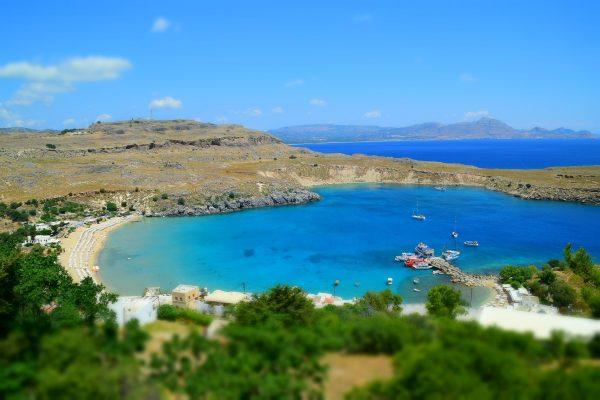 Греція Родос озеро