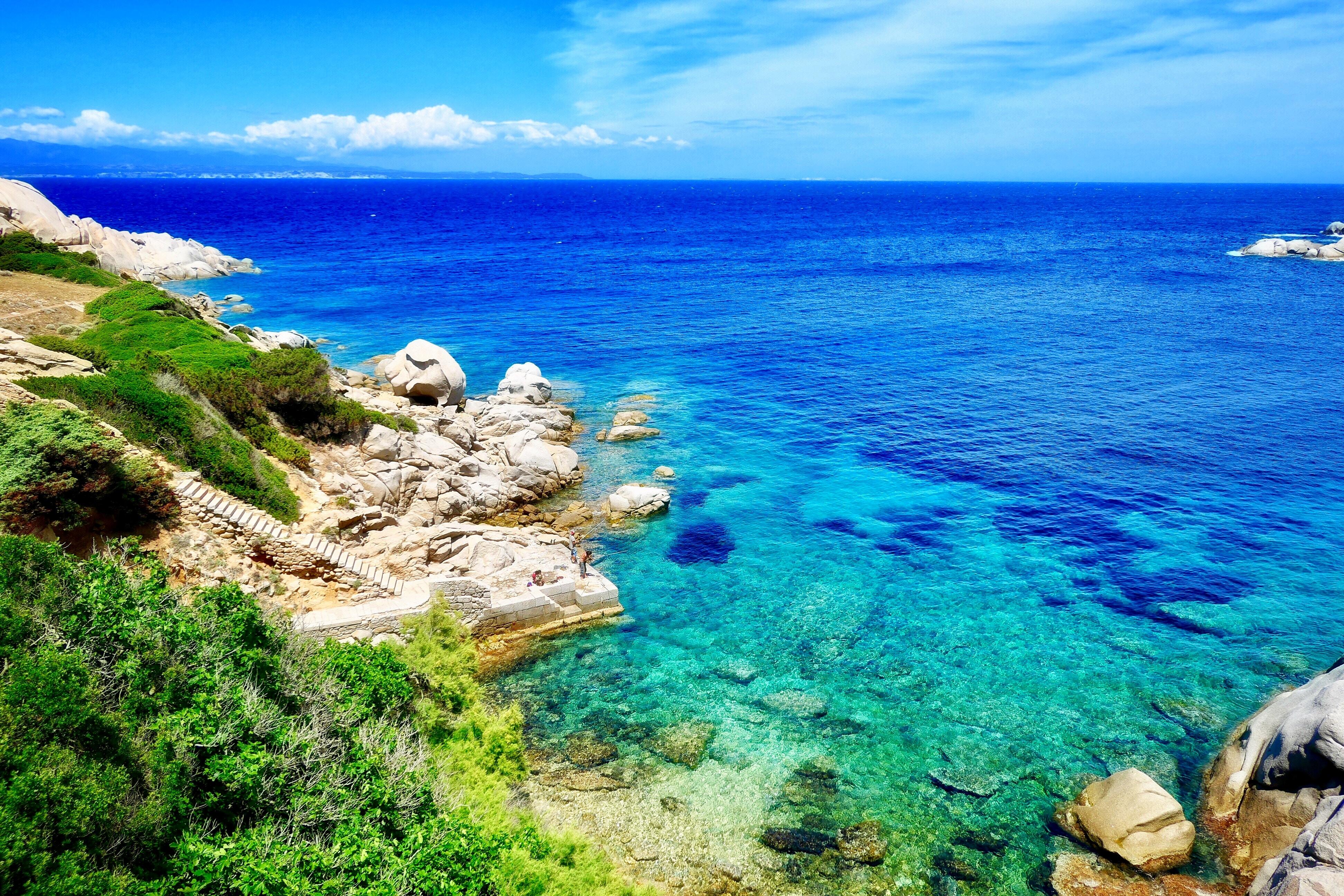 Італія Сардинія море берег