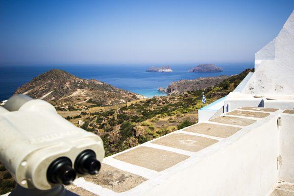 Греція Мілос оглядовий майданчик