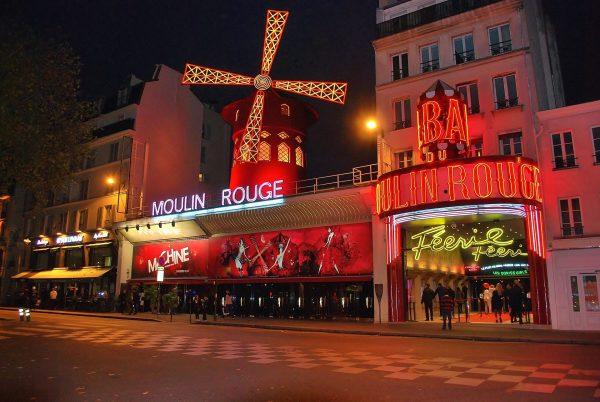 Франція Париж Мулен Руж