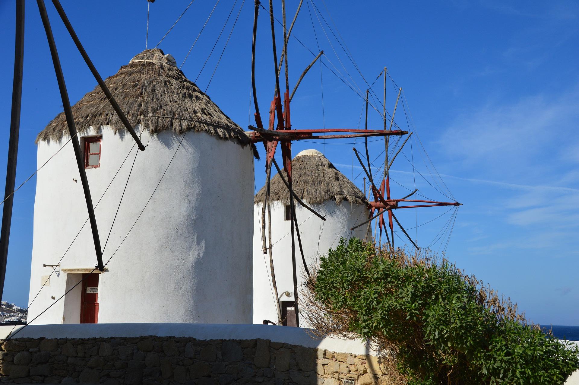 Греція Міконос млин