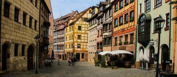 Німеччина Нюрнберг вулиця
