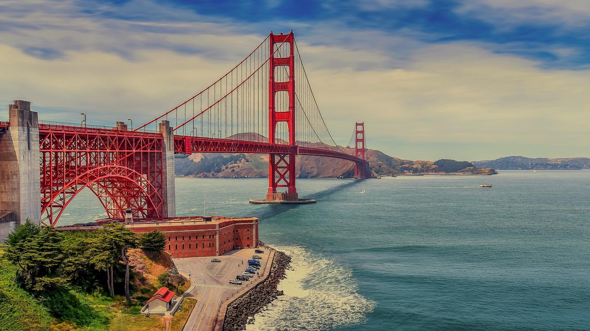 США Сан-Франциско міст Золоті ворота