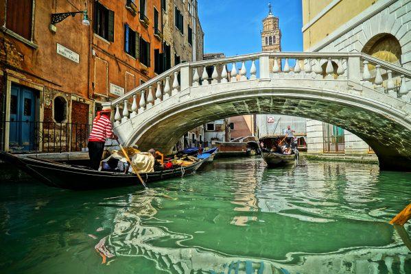 Італія Венеція канал