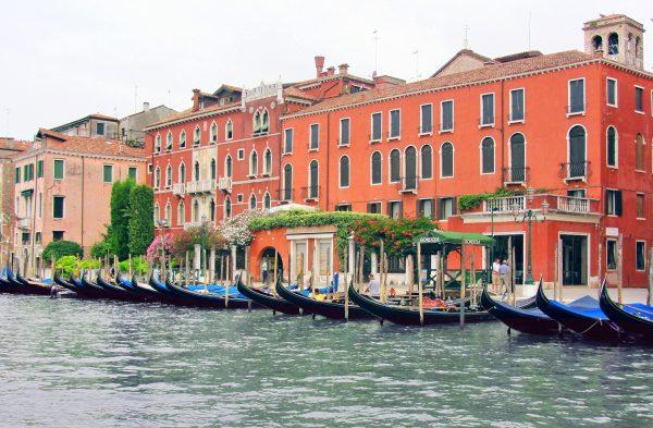 Італія Венеція гондоли