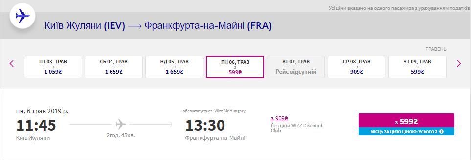 Київ - Франкфурт