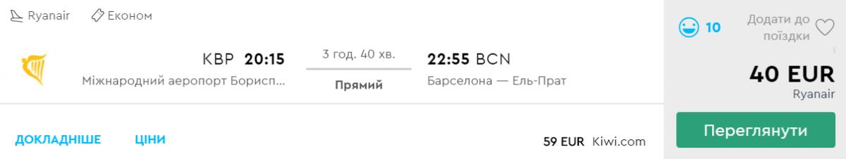 Київ - Барселона
