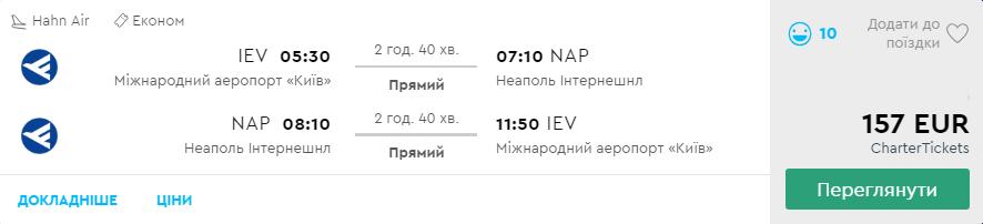 Київ - Неаполь - Київ