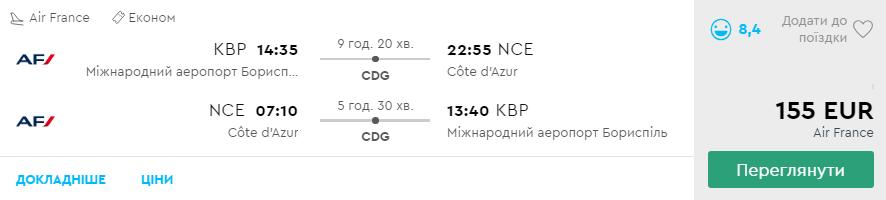 Київ - Ніцца - Київ