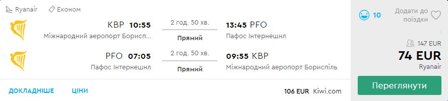 Київ - Пафос - Київ