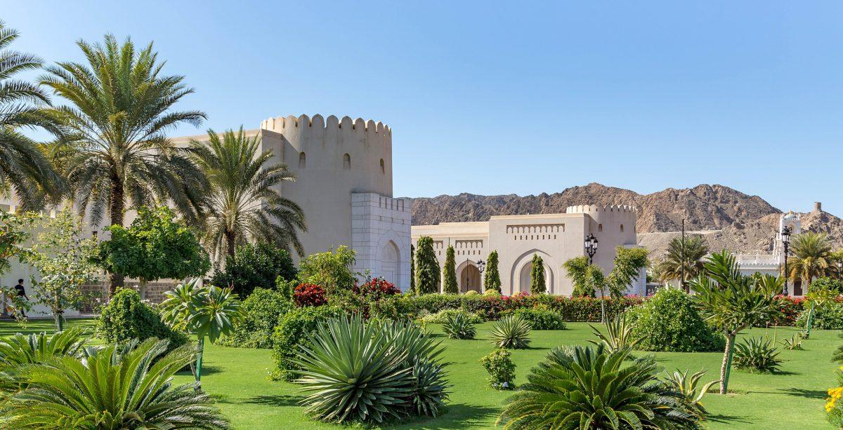 палац у Омані
