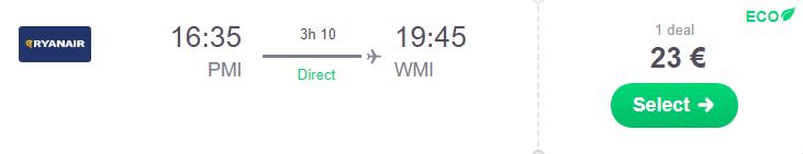 Майорка -Варшава