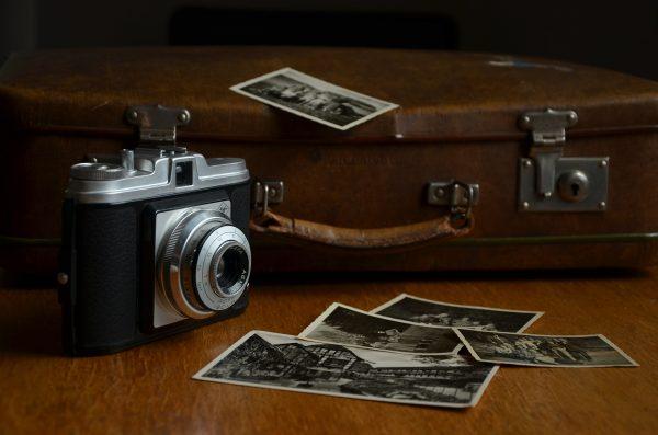 чемодан фотоапарат