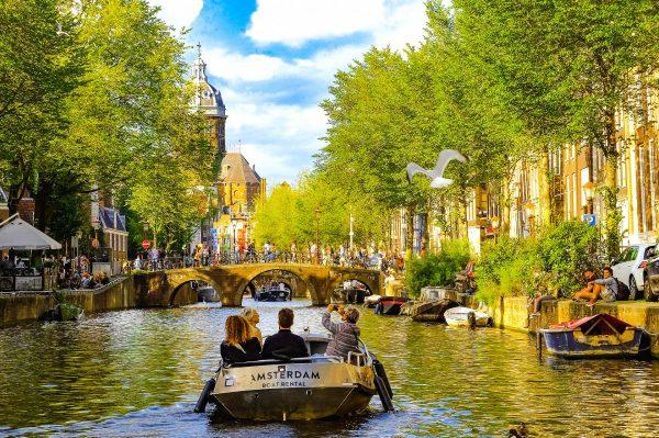 Голландія Амстердам канал