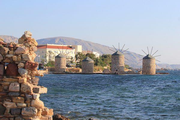 Греція Хіос млини