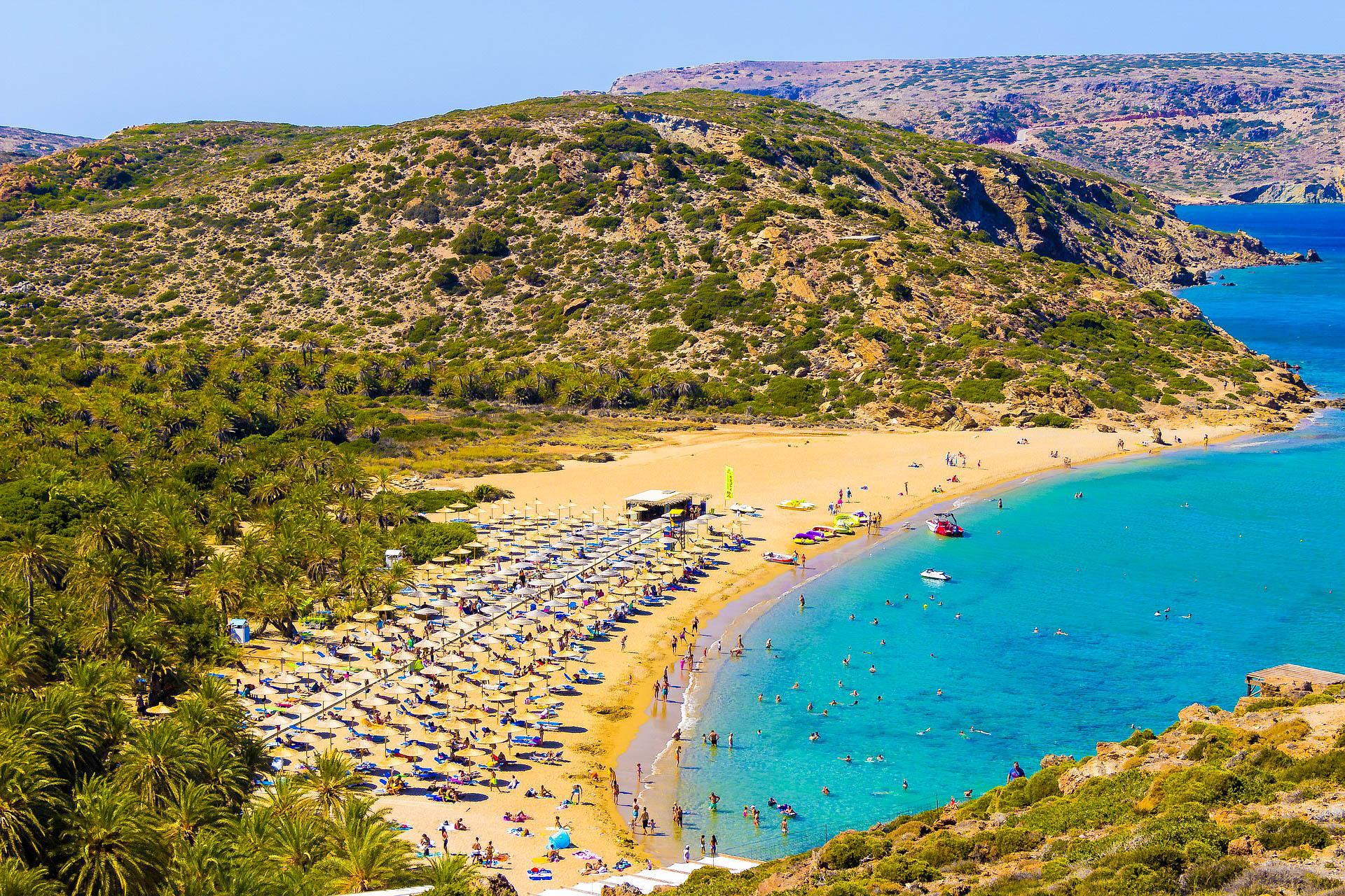 Греція Крит пляж