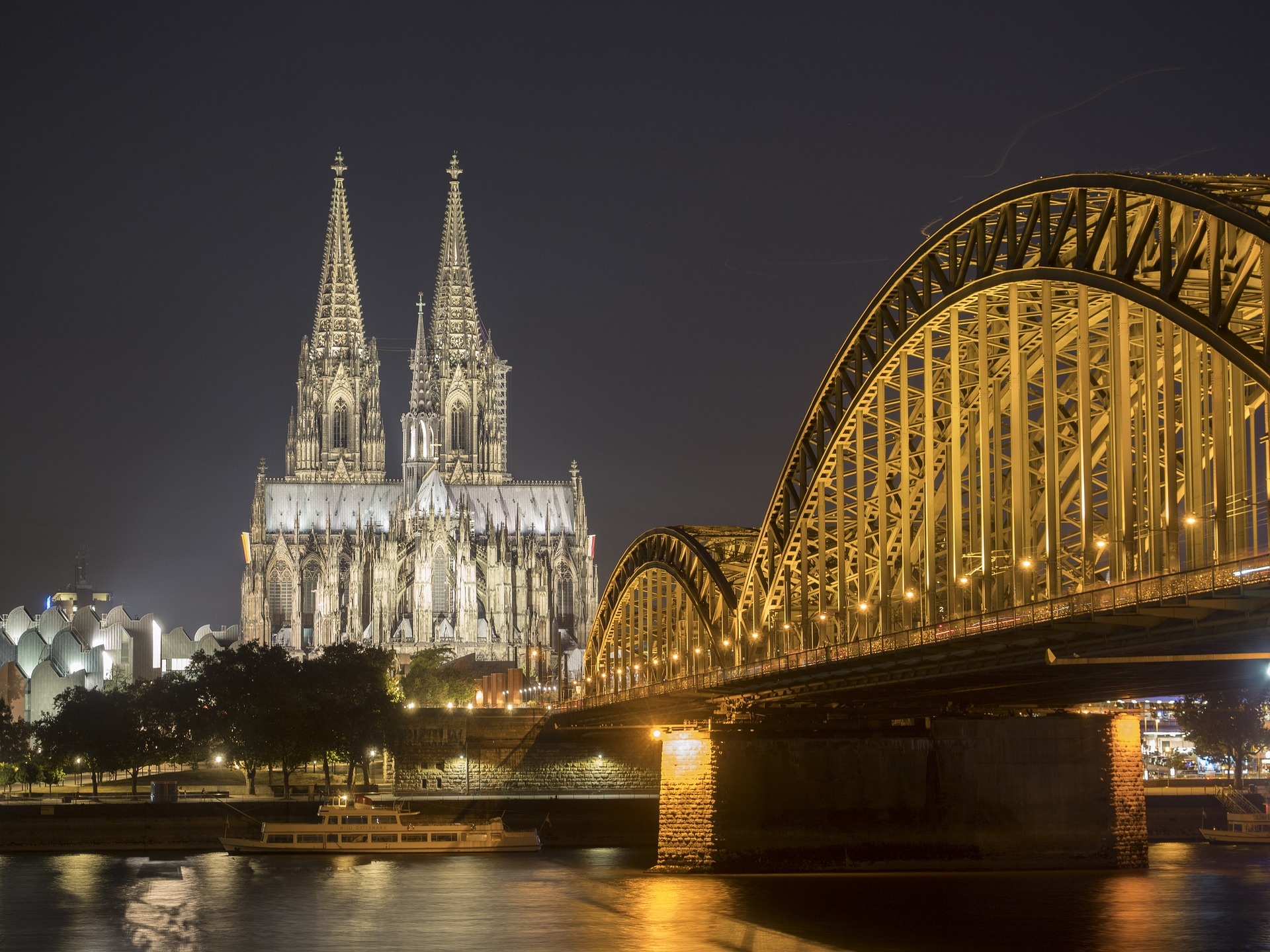 Німеччина Кельн міст собор