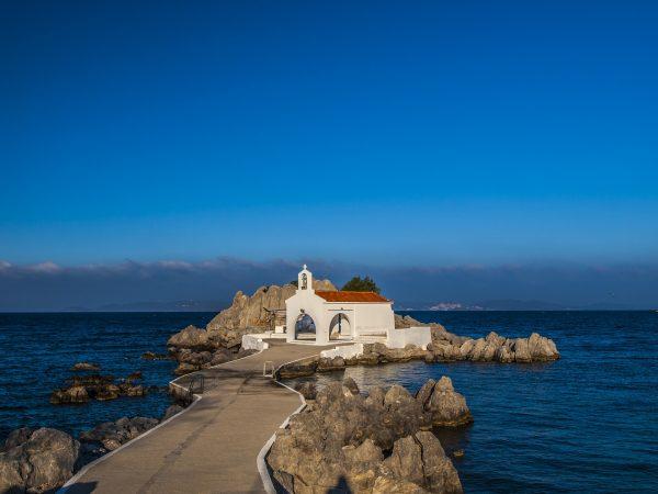 хіос церква і море
