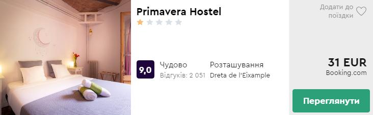 Primavera Hostel