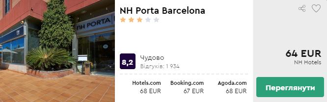 NH Porta Barcelona
