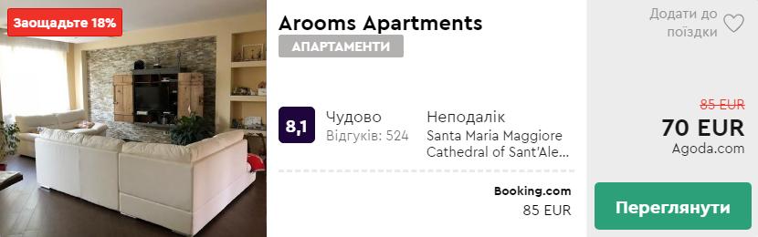 Arooms Apartments