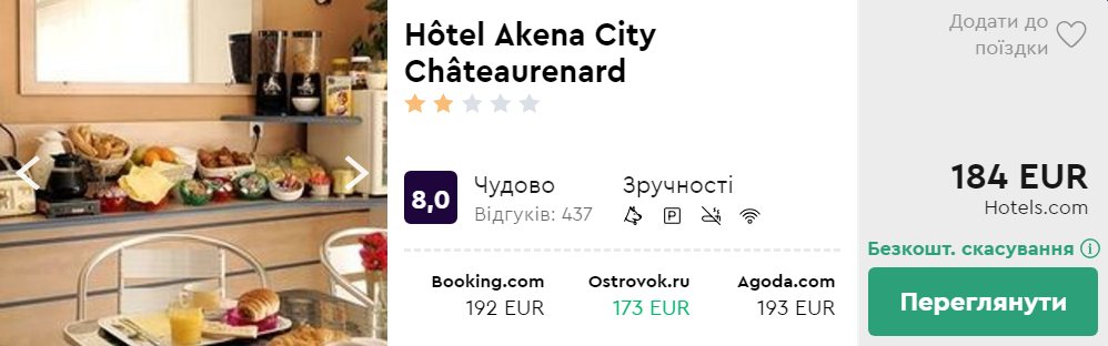 Hôtel Akena City Châteaurenard