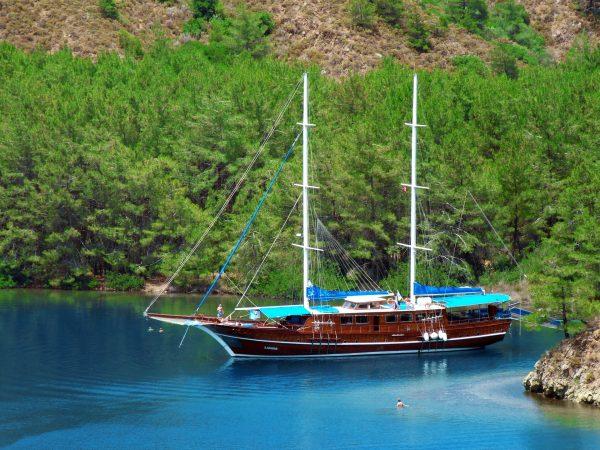 Туреччина Мармарис корабель