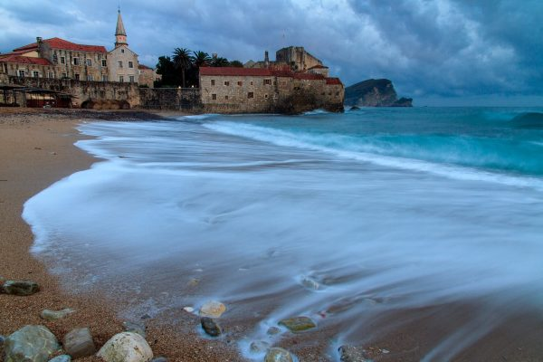 будва море замок