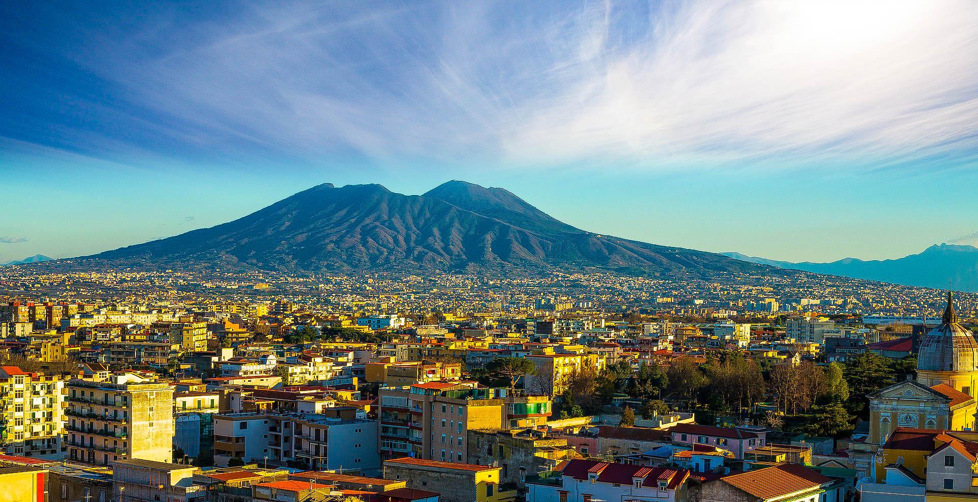 Італія Неаполь Везувій