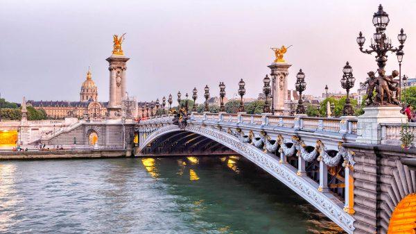 Франція Париж річка Сена