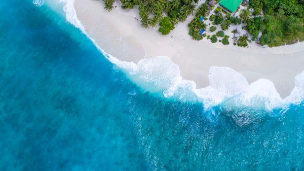 мальдіви пляж і океан