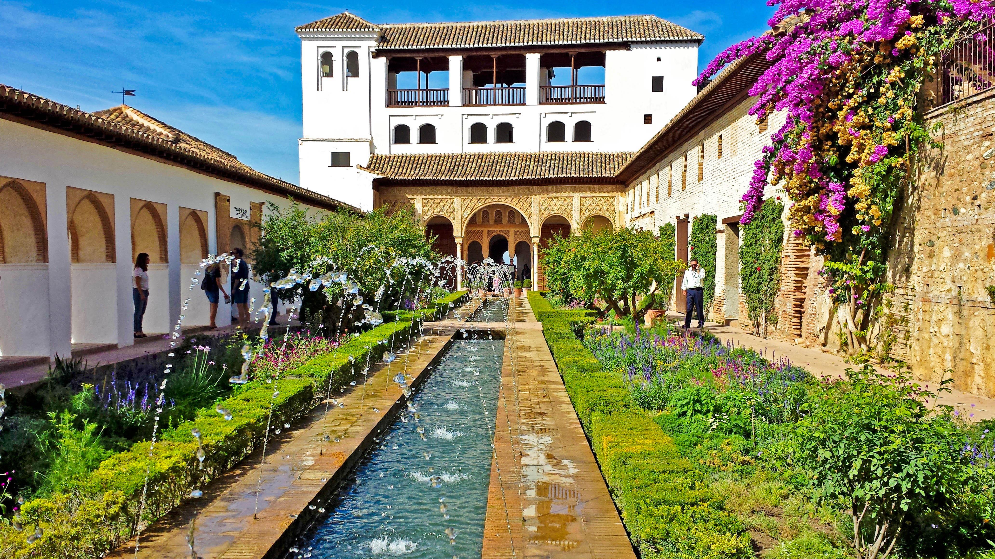 Іспанія Альгамбра Гранада Андалусія