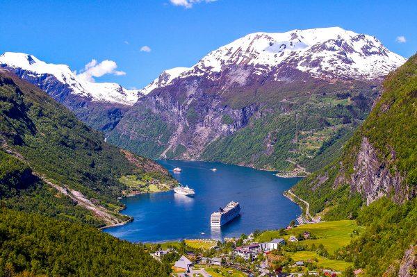 Норвегія фьорд