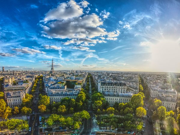 париж панорама міста