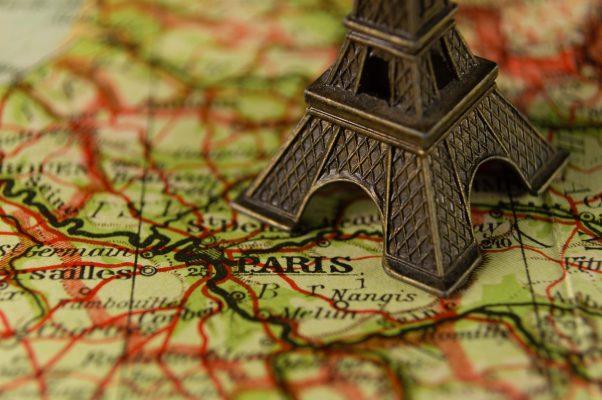 париж мапа