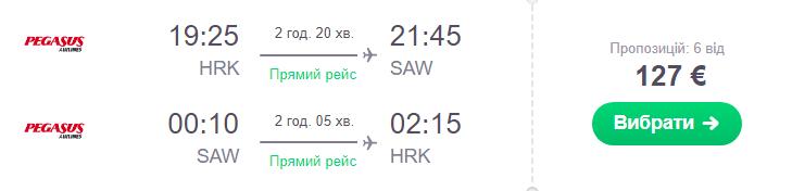 Харків - Стамбул - Харків