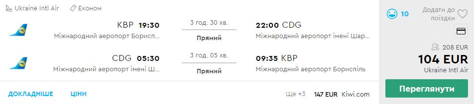 Київ - Париж - Київ