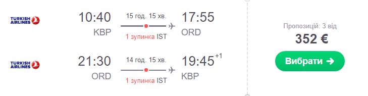 Київ - Чикаго -Київ