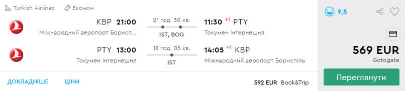 Київ – Панама – Київ