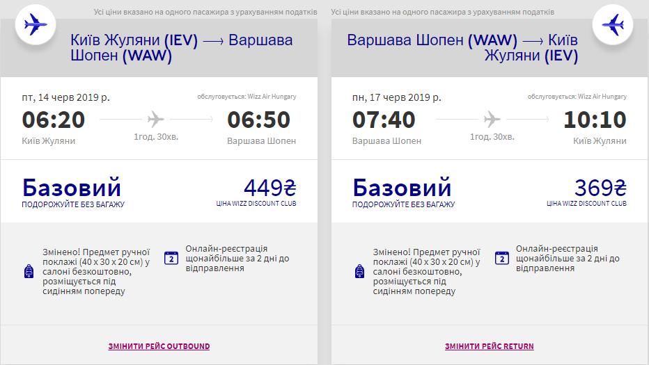 Київ - Варшава - Київ >>